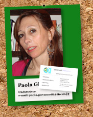 Paola Giovannetti in Bacheca ACTA