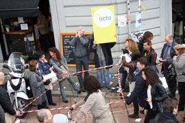 La mobilitazione degli ACTIVISTI al Fuorisalone