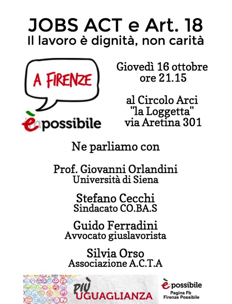 #jobsActa a Firenze
