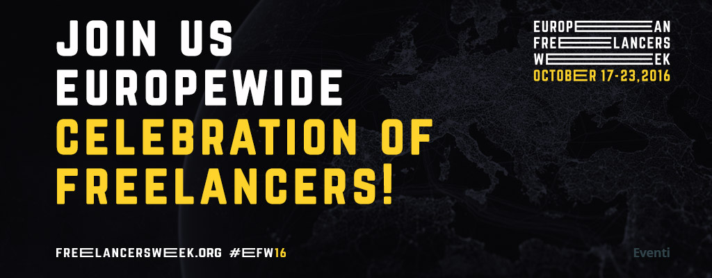 #EFW European Freelancers Week - 17-23 ottobre 2016 Acta