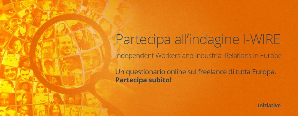 Partecipa a I-WIRE la prima indagine europea sui freelance