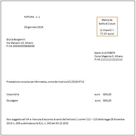 Conosciuto Infopoint - Fisco - Regime Forfettario 2016 TZ78