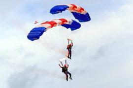 skydiving coronavirus