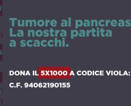 Dona il cinque per mille a Codice Viola in ricordo di Francesca Pesce